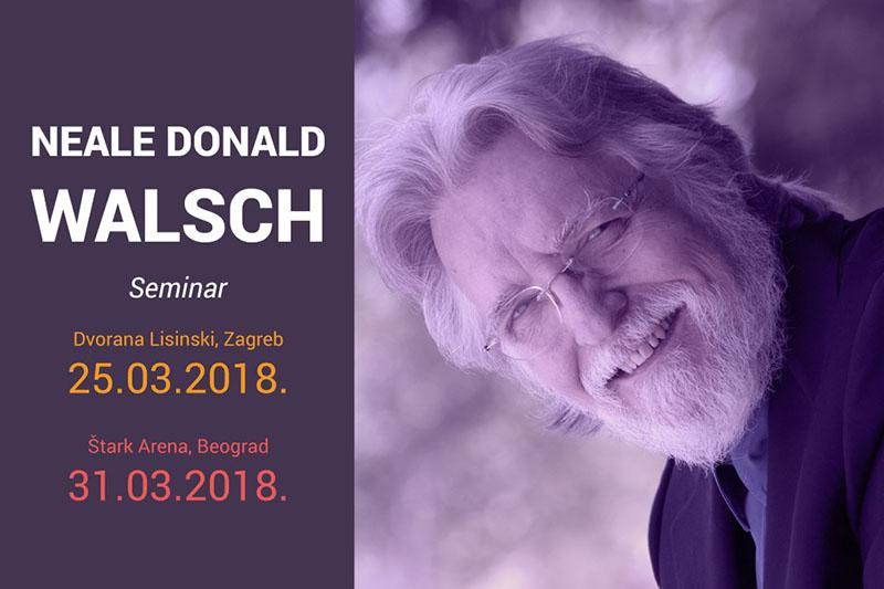 Autor knjiga Razgovori s Bogom održat će svoj prvi seminar u Zagrebu