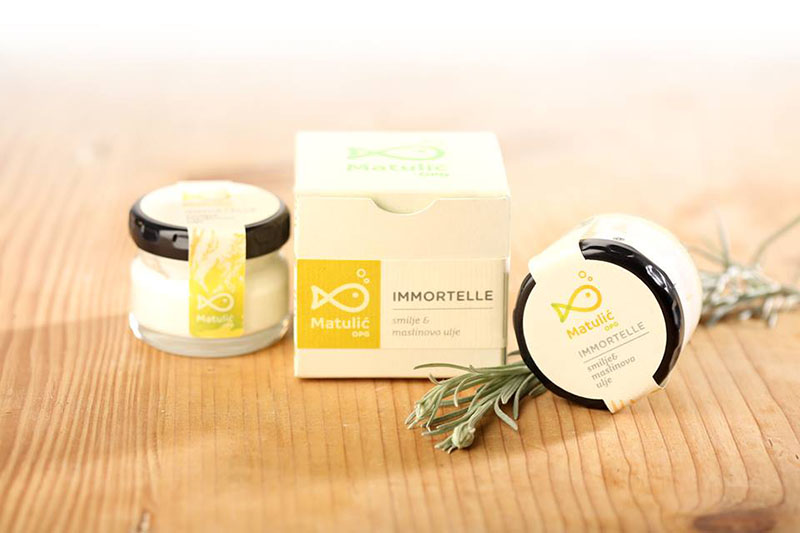 Immortelle hidratantna krema - pašmansko smilje za ljepotu kože