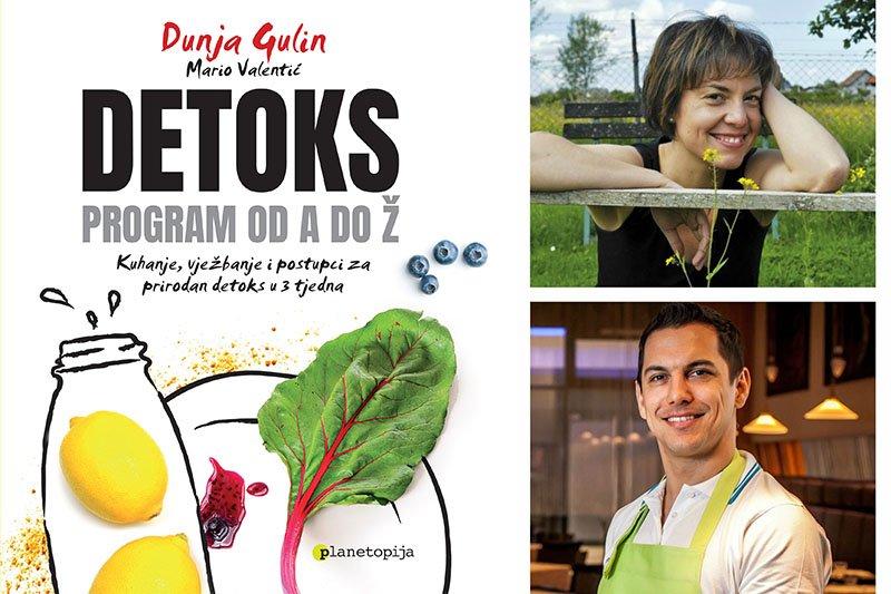 Knjiga Detoks: program od A do Ž vodi te kroz svaki dan detoksikacije