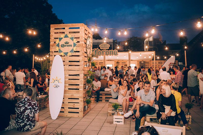 Corona Sunsets Session pop-up bar stigao i u Zagreb