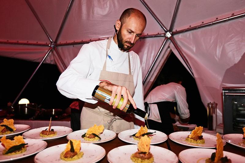 Somat i chef Marin Medak pripremili fantastičnu kulinarsku priču u Parku želja