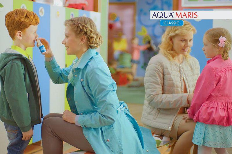 Aqua Maris sprej za nos tjera prehladu i gripu