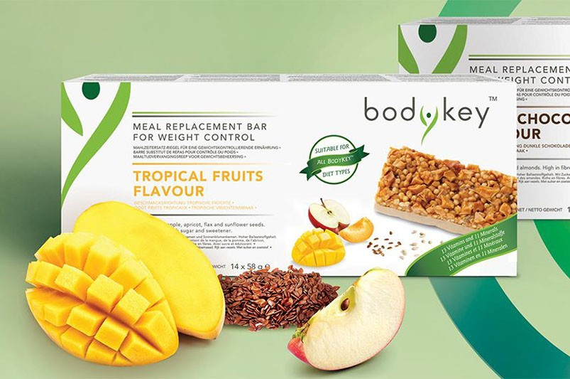 bodykey by Nutrilite Zamjenski obrok u pločici: Za zdrav život u pokretu