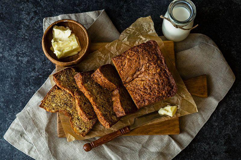 Banana kruh – zdravi recept za bezglutenski kruh od banane