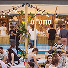 Corona Sunsets Session pop up bar -