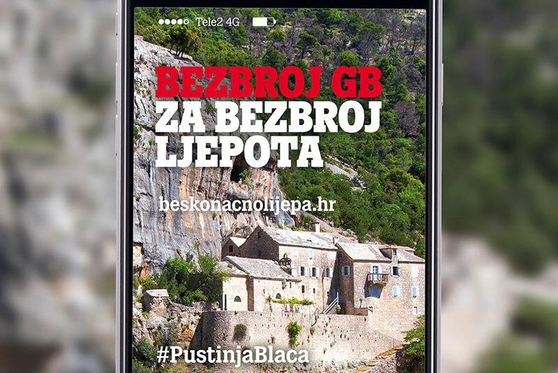 Tele2 kampanja #BeskonačnoLijepaNaša otkriva skrivene ljepote Hrvatske