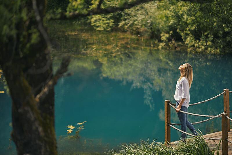 Prepustite se zagrljaju zelenila, u Termama Dolenjske Toplice