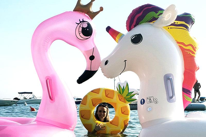 U moru jednoroga i flamingosa, ti budi ananas