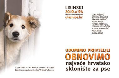Udomimo prijatelja - pridruži se akciji obnove najvećeg hrvatskog skloništa