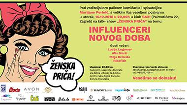 Ribafish, Alis Marić, Lucija Lugomer i Maja Brekalo - influenceri