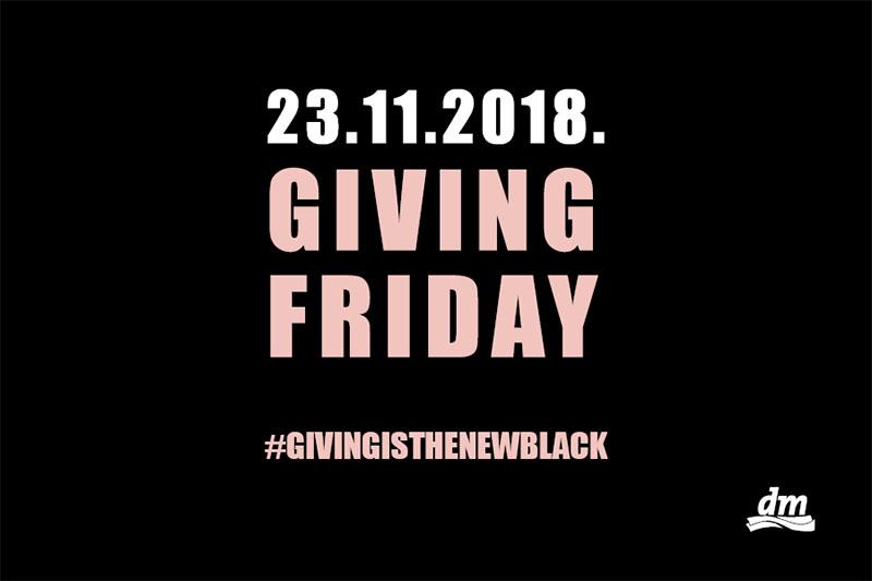 Podrška djeci bez obitelji: U dm-u Black Friday postaje Giving Friday