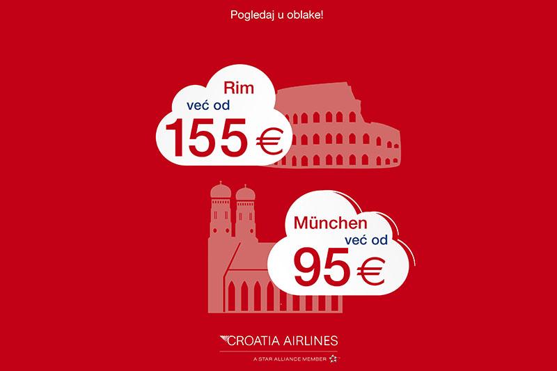 München i Rim sad su još bliže, zahvaljujući akciji Pogledaj u oblake
