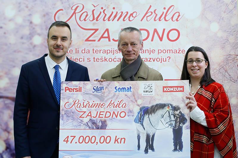 Donacijom 47.000 kuna udruzi Krila završena je akcija Raširimo krila zajedno