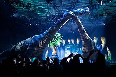 Šetnja s dinosaurima – Spektakl u Areni prava je lekcija