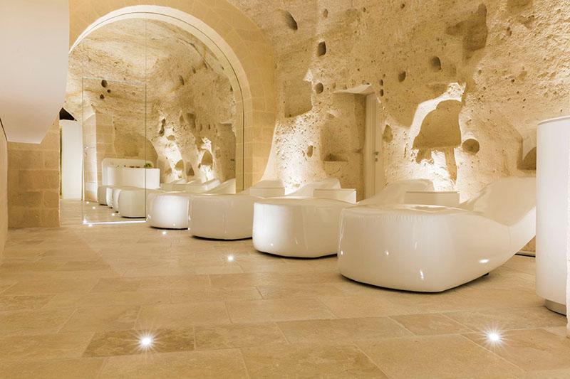 Aquatio Cave Luxury Hotel: Soba u špilji u gradu uklesanom u stijeni