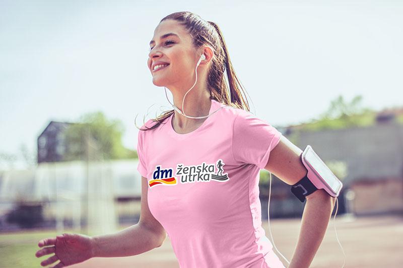 Uz dm žensku utrku, trčanje postaje cjelodnevna zabava