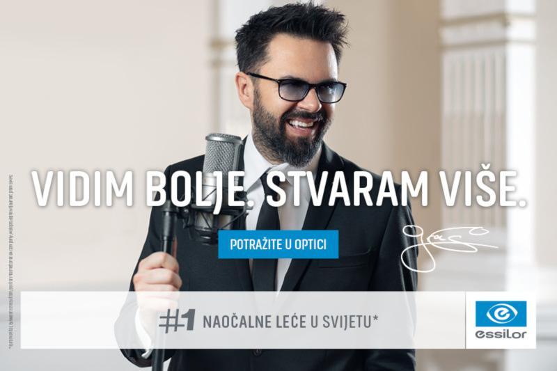 Petar Grašo nosi Essilor naočalne leće - saznajte zašto