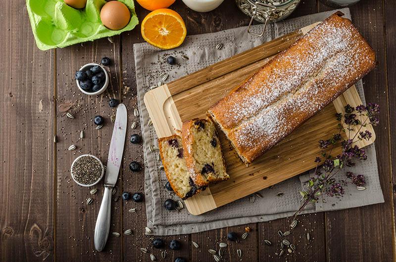 Kruh od jogurta i borovnica – slatki zalogaj koji možeš jesti i za doručak