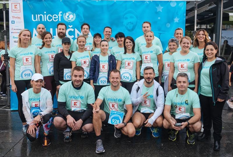 Kaufland ponovno podržao humanitarnu utrku UNICEF-a za poboljšanje uvjeta u rodilištima