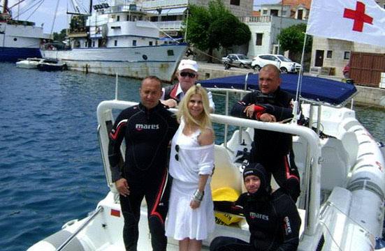 Ronioci uz podršku Mile Elegović čistili podmorje