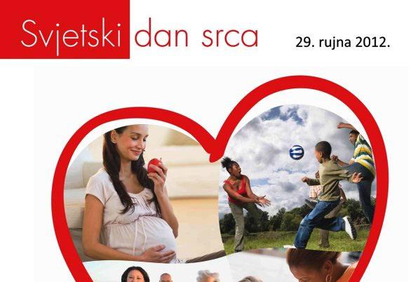 Obilježen Svjetski dan srca 2012.