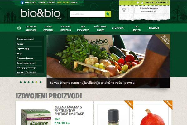Novi Bio&Bio portal - shopping ugodan oku