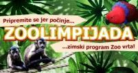 Zoolimpijada - zimski program Zoo vrta