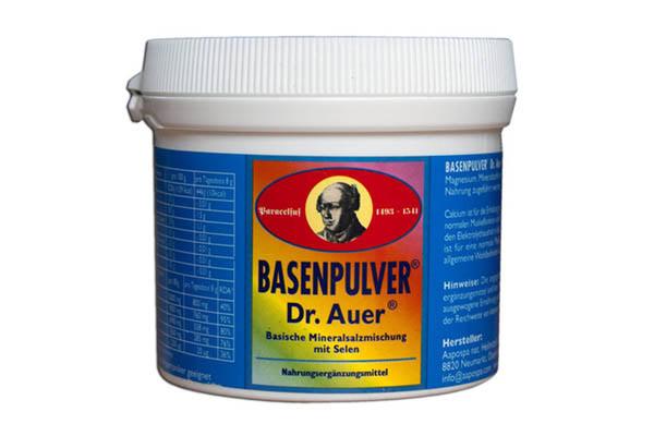 Basenpulver – prijatelj želuca