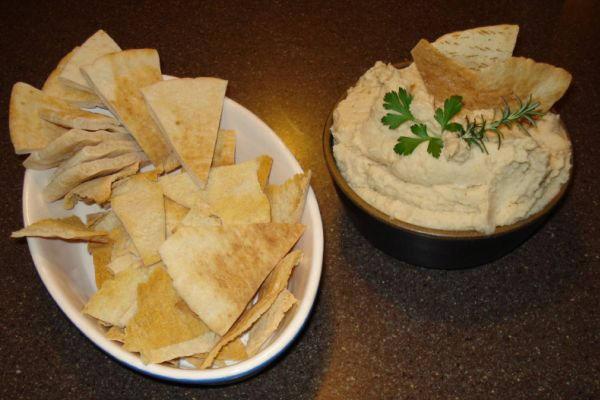 Domaći namaz od slanutka - humus