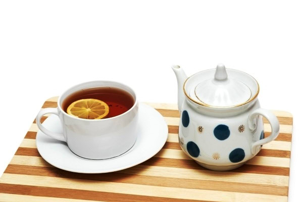 Šalica čaja - nevolje s aknama