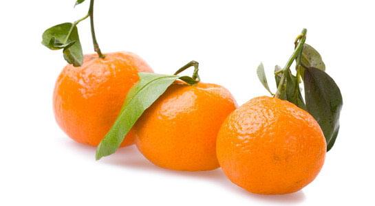 Mandarine: crvena za smirenje, zelena za probavu